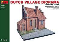 Диорама голландской деревни. 36023 MiniArt 1:35