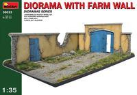 Диорама с забором фермы. 36033 MiniArt 1:35