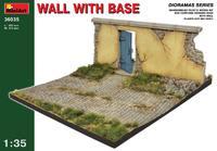 Стена с основанием. 36035 MiniArt 1:35