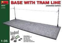 Основание с трамвайной линией. 36057 MiniArt 1:35