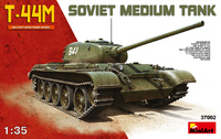 Т-44М средний танк с интерьером. 37002 MiniArt 1:35