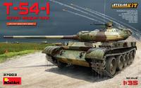 Т-54-1 обр. 1947 средний танк с интерьером. 37003 MiniArt 1:35