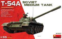 Т-54А средний танк. 37017 MiniArt 1:35