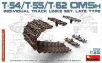 Т-54/55/62 ОМШ траки позднего типа. 37048 MiniArt 1:35
