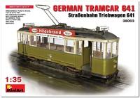 MAN/SSW TW 641 (Triebwagen 641) Нюрнбергский 2-осный трамвай 600-й серии обр. 1913 г. 38003 Miniart 1:35