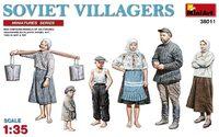Советские сельские жители - Miniart 38011 1:35