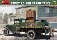 Советский полуторатонный грузовой автомобиль. 38013 MiniArt 1:35