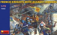 Французские рыцари с осадными лестницами XV век. 72002 MiniArt 1:72