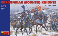 Бургундские конные рыцари XV век. 72006 MiniArt 1:72