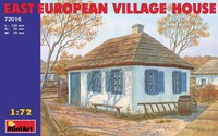 Восточно-европейский сельский дом. 72016 MiniArt 1:72