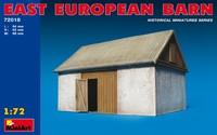 Восточно-европейский сарай. 72018 MiniArt 1:72