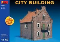 Городское здание. 72019 MiniArt 1:72