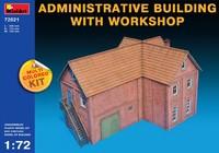 Административное здание с мастерской. 72021 MiniArt 1:72
