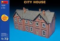 Городской дом. 72030 MiniArt 1:72