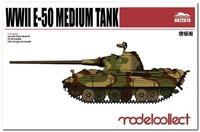 E-50 проект среднего танка. UA72018 Modelcollect 1:72