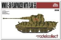Е-50 проект ЗСУ с 2х5.5 cm Flak Gerat 58 UA72020 Modelcollect 1:72