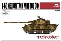 Е-50 проект среднего танка с 10,5 cm KwK 46. UA72040 Modelcollect 1:72