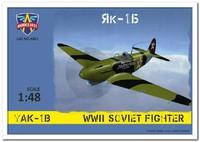 Як-1Б истребитель. 4801 Modelsvit 1:48
