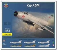 СУ-7БМ истребитель-бомбардировщик. 72001 Modelsvit 1:72
