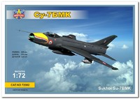 СУ-7БМК истребитель-бомбардировщик. 72002 Modelsvit 1:72