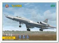 Ту-22КД ракетоносец. 72022 Modelsvit 1:72