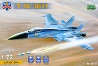 Т-10-10 (прототип Су-27) истребитель. 72049 Modelsvit 1:72
