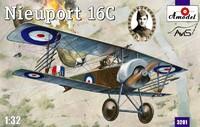 Nieuport 16C истребитель. 3201 Amodel 1:32