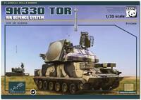 9А330 «Тор-М1» (SA-15 Gauntlet) БМ всепогодного тактического ЗРК ПВО. PH35008 Panda Hobby 1:35