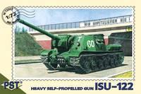 Самоходно-артиллерийская установка ИСУ-122. Масштаб 1/72