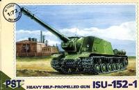 Самоходно-артиллерийская установка ИСУ-152-1. Масштаб 1/72