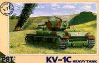 Тяжелый танк КВ-1С (обр.1942). Масштаб 1/72