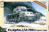Тяжелый танк Pz.Kpfw. 753 ( r ). Масштаб 1/72