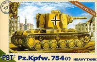 Тяжелый танк Pz.Kpfw.754 ( r ). Масштаб 1/72