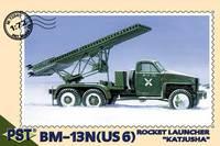 "БМ-13Н ""Катюша"" на базе US6. Масштаб 1/72"