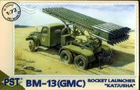 "БМ-13 ""Катюша"" на базе GMC. Масштаб 1/72"