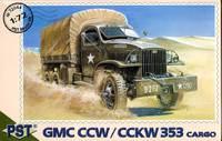 Грузовик GMC CCW/CCKW 353. Масштаб 1/72