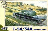 Средний танк Т-54/54А. Масштаб 1/72