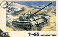 Средний танк Т-55. Масштаб 1/72.