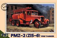 Пожарная машина ПМЗ-2(ЗиС-6). Масштаб 1/72
