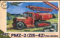 Пожарная машина ПМЗ-2(ЗиС-42). Масштаб 1/72