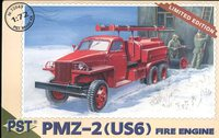 Пожарная машина ПМЗ-2(US6). Масштаб 1/72