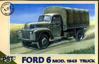 Грузовик Ford 6 m.1943 Cargo. Масштаб 1/72