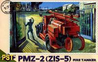 Пожарная машина ПМЗ-2(ЗиС-5). Масштаб 1/72