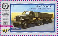 GMC CCW 353 Тягач с полуприцепом (австралийский). Масштаб 1/72