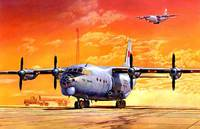 Ан-12БК военно-транспортный самолет - 042 Roden 1:72
