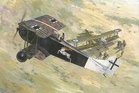 Fokker D.VII ранний пр-ва Albatros. 421 Roden 1:48