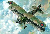 Gloster Gladiator Mk.I/II/J8 Meteo. 438 Roden 1:48
