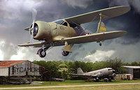 Beechcraft UC-43 Staggerwing. 442 Roden 1:48