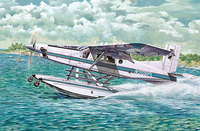 Pilatus PC-6 B2/H4 Turbo-Porter Floatplane. 445 Roden 1:48