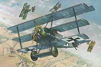 Fokker F.I Dreideker прототип. 605 Roden 1:32